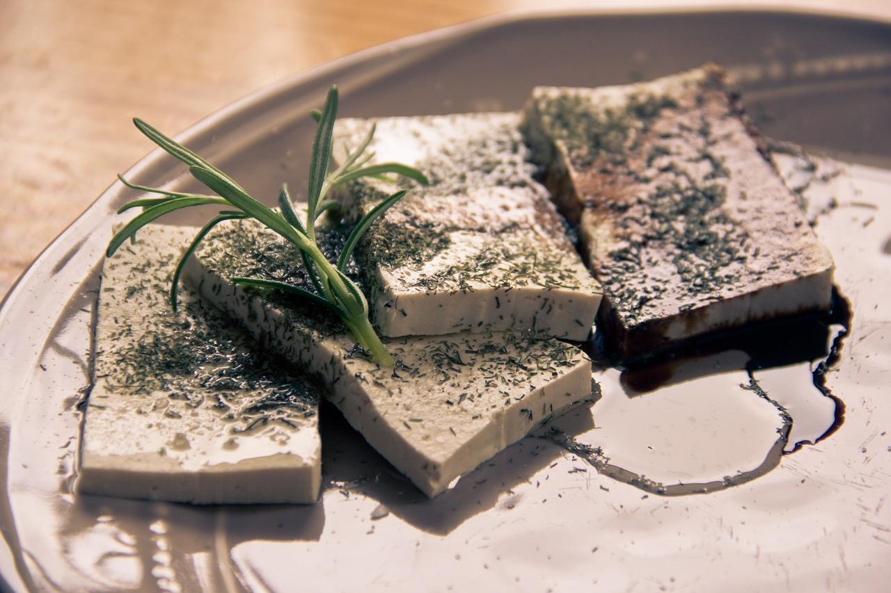Veganský jídelníček: Tofu