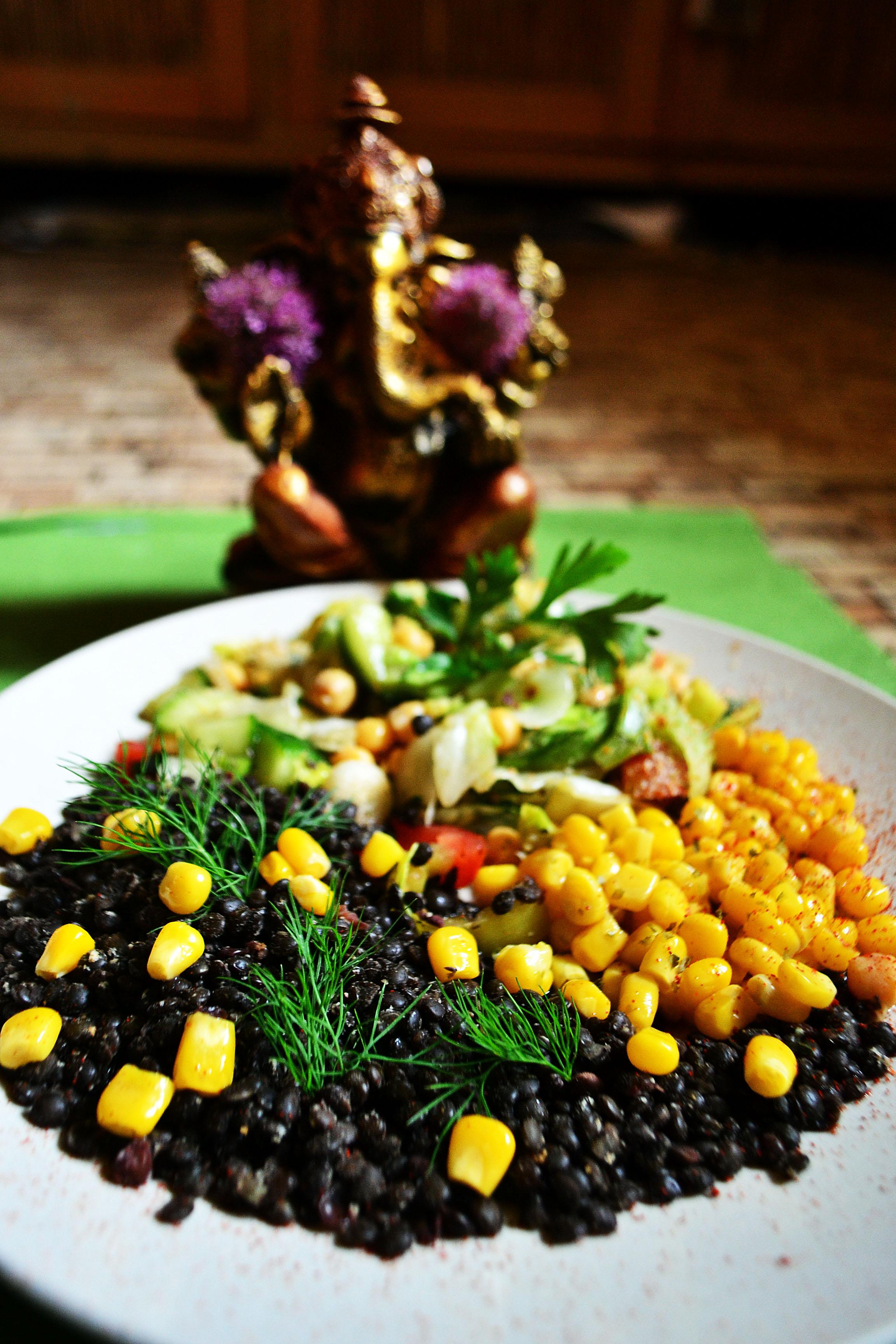zeleninový oběd